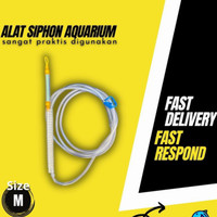 alat sipon aquarium - Alat shipon pembersih aquarium soliter ikan hias
