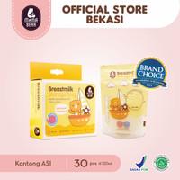 MamaBear Kantong ASI 120ml Breastmilk Storage Bag Mama Bear