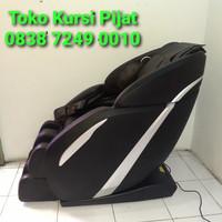 Deluxe Massage Chair Rovos R662L Coffee Black Kursi Pijat 081380783912