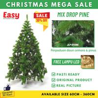 Pohon Natal 150Cm 1,5 Meter 5 Feet Ft Murah Premium PVC Daun Lebat