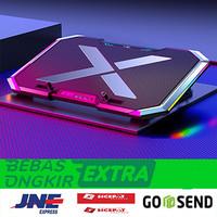Gaming Cooling Pad Laptop LED RGB Light 6 Fan