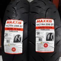 Ban PCX 150 LOCAL MAXXIS 100/80-14 & 120/70-14