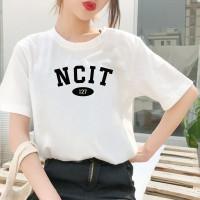 Kaos NCIT NCT 127 Oversize Jumbo Wanita Korean Kpop Lengan Pendek