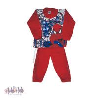 Stelan Tangan Panjang anak laki-laki Super Hero Murah Bagus Baju Tidur