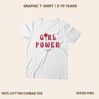 Baju Anak Perempuan Rizigo Kids Series Girls 2-10 Tahun - Kaos Anak