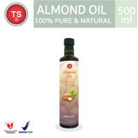 Almond Oil Minyak Almond TSBali 500ml Food Grade 100% Murni - Carrier