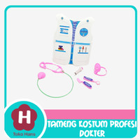 Mainan Anak Kostum Baju Profesi Doctor / Dokter Tameng