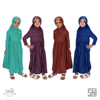 CUIT Toddler Super Soft Premium Microrayon Kamiya Dress Anak Yuri Seri