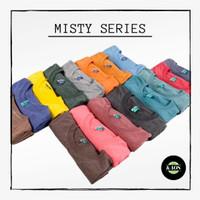 Kaos Polos Misty 30s Cotton Twotone Lengan Pendek Pria & Wanita Part 1