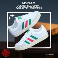 SEPATU ADIDAS AMERICANA WHITE GREEN ORIGINAL CASUAL ORI