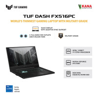 ASUS TUF Dash F15 FX516PC-I735B6T-O Intel Core i7 11370H-RTX 3050-8GB