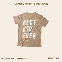 Kaos Anak Rizigo Kids Series Font IV 2-10 Tahun - Kaos Anak Laki