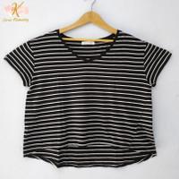 baju thrift blouse kaos oversize atasan wanita preloved import - GK022