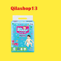 QS Baby happy pempes popok diapers Uk M34+4