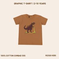 Baju Anak Laki Rizigo Kids Series Dinosaurus - Kaos Anak