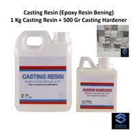Casting Resin - 1.5 Kg - Sticker Timbul Resin - Stiker Timbul Keras