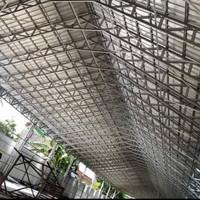baja ringan atap spandek berpasir buat gudang dan atap rumah makan dll