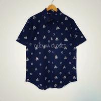 Kemeja Batik 53 Pria Baju Blus Blouse Kerja Wanita Modern - M