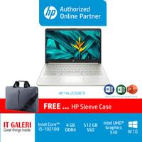 HP 14S-CF2500TX CI5-10210U/4GB/512GB/R530 2GB/14.0/SILVER WIN10