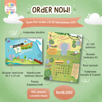 Kalender Edukatif Anak El-Hana - 12 Hewan dalam Al-Qur'an