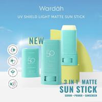 NEW Wardah UV SHIELD LIGHT MATTE SUN Stick SPF 50 PA ++++