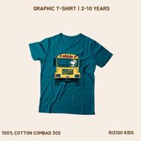 Kaos Anak Rizigo Kids Series Snoopy 2-10 Tahun - Kaos Anak Laki