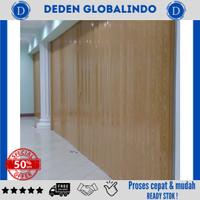 pintu plastik penyekat antar ruangan   pvc folding door berkualitas