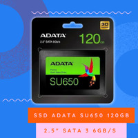 "SSD Adata SU650 120GB Original 2.5"" SATA 3 6Gb/s"