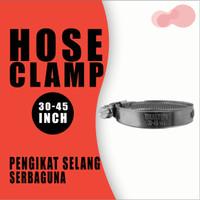 Hose Clamp | Klemp Selang | Alat Penjepit Selang |Ukuran 30 - 45mm