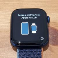Apple iWatch Series 6 44mm blue navy aluminium sport band