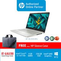 HP 14S-CF2518TU I3-10110U/4GB/256GB/14.0/WIN10+OHS2019/GOLD