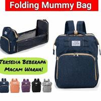 Tas bayi backpack multifungsi expand tempat bayi diaper backpack