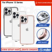 Case iPhone 13 Pro Max Mini PATCHWORKS LUMINA Clear Hybrid Casing