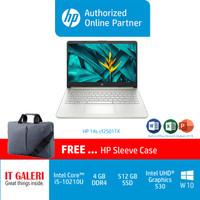 HP 14S-CF2501TX CI5-10210U 4GB 512GB R530 2GB 14.0/GOLD WIN10