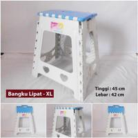 Kursi Lipat/ Bangku Lipat/ Piknik Plastik Niktech ukuran XL