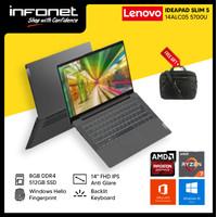 LENOVO IDEAPAD SLIM 5 14AL05 R7 5700U 8GB 512GB 14 FHD W10 OHS