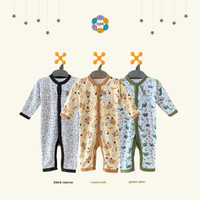 NOVA Premium Sleepsuit Buka Kaki - Jumper Panjang 0-9 Bulan