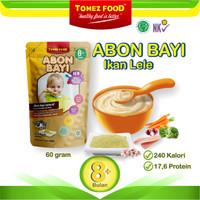 ABON BAYI TOMEZ IKAN LELE Premium 60g Non MSG 100% Natural+Gula Aren