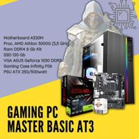 Gaming PC Master Basic At3 AMD Athlon 3000G AMD A320 Geforce 1030 SSD