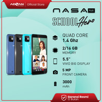 Advan Nasaplus 2GB 16GB Smartphone Android10 Quadcore Garansi Resmi