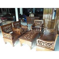 kursi tamu klasik ukiran asli Jepara 2111 seater kayu jati berkualitas