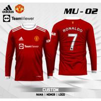 Jersey MU CR7 baju kaos Ronaldo MU 02