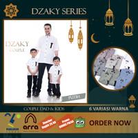 Baju Muslim KEMEJA KOKO DZAKY Kurta Couple Ayah dan Anak Laki Laki