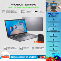 Laptop Asus Vivobook A416EAO i5-1135G7 RAM 4GB SSD 256GB 14 IPS FHD - Non Bundle
