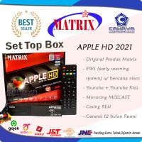 Receiver TV Set Top Box Matrix Apple DVB T2 Digital DVBT2 Antena apel