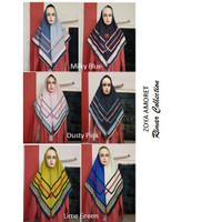 Zoya Amoret Scarf Kerudung Hijab Segiempat gratis Masker Zoya