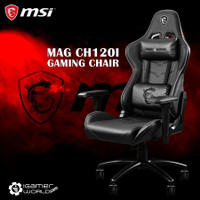 MSI MAG CH120 I The Conqueror`s Throne Gaming Chair