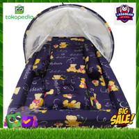 Kasur Bayi Kelambu / Kasur anak / TeddyBear / Set Kolam / Tempat tidur