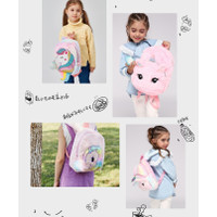 Ransel Unicorn Bulu Fluffy TU018 tas sekolah tk sd anak perempuan