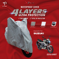 Cover Motor Suzuki GSX 150 Bandit Waterproof-UV Protect 4 Layers